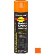 Rust-Oleum High Performance V2100 Rust Preventive Enamel Aerosol, Safety Orange, 15 oz.- V2155838 - Pkg Qty 6