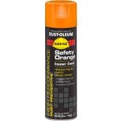 Rust-Oleum High Performance V2100 Rust Preventive Enamel Aerosol, Safety Orange 20 oz. Can- V2155838 - Pkg Qty 6