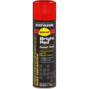Rust-Oleum High Performance V2100 Rust Preventive Enamel Aerosol, Bright Red 20 oz. Can - V2164838 - Pkg Qty 6
