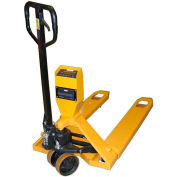 Ravas Pallet Scale Truck 310-GI-NTEP - NTEP Approved Legal for Trade, 5000 Lb. Capacity, Yellow