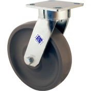 "RWM Casters 65 Series 5-5/8""Height, 4"" Durastan Wheel, Swivel Caster"
