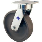 """RWM Casters 65 Series 5"""" GT Wheel Swivel Caster with Demountable Swivel Lock - 65-GTB-0520-S-DSL"""