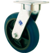 "RWM Casters 65 Series 7-1/2""Height, 6"" Signature Wheel with Demountable Swivel Lock, Swivel Caster"