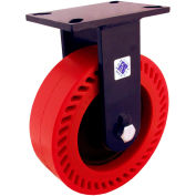 "RWM Casters 76 Series 10"" Phenolic Wheel Rigid Caster - 76-DUR-1030-R"