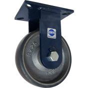 "RWM Casters 76 Series 10-1/2""Height, 2-1/2""W, 8"" Urethane on Iron Wheel, Rigid Caster"
