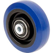 "RWM Casters 4"" x 1-1/4"" Signature™ Wheel with Sealed Ball Bearing for 3/8"" Axle - SWB-0412-06"