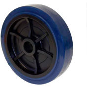 "RWM 4"" x 2"" Urethane on Polypropylene Wheel with Roller Bearing for 1/2"" Axle, 600 Lbs. Capacity"