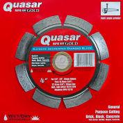 "4"" Quasar Rapid-Kut 100 ""Gold"" Segmented Diamond Blade"