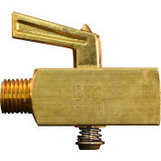 "Milton S-638 Flow Control Valve 1/4"" NPT Male & Female 150 PSI 5 CFM"