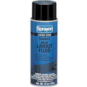 Sprayon SP603 Blue Layout Dye, 12 oz. Aerosol Can - SC0603000 - Pkg Qty 12