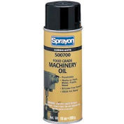 Sprayon LU701 Food Grade Machinery Oil, 10 oz. Aerosol Can - s00700000 - Pkg Qty 12