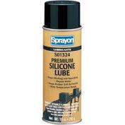 Sprayon LU1324 High-Performance Silicone Lubricant, 10 oz. Aerosol Can - s01324000 - Pkg Qty 12