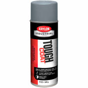 Krylon Industrial Tough Coat Acrylic Enamel Machinery Gray - A01620007 - Pkg Qty 12