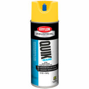Krylon Industrial Quik-Mark Wb Inverted Mkg Paint Apwa Brilliant Yellow - S03402 - Pkg Qty 12