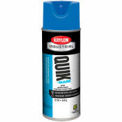 Krylon Industrial Quik-Mark Wb Inverted Marking Paint Apwa Brilliant Blue - A03406004 - Pkg Qty 12