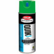 Krylon Industrial Quik-Mark Wb Inverted Marking Paint Apwa Brilliant Green - S03407 - Pkg Qty 12