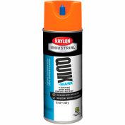 Krylon Industrial Quik-Mark Wb Inverted Marking Paint Fluorescent Orange - S03408 - Pkg Qty 12