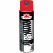 Krylon Industrial Quik-Mark Sb Inverted Marking Paint Apwa Red - S03611 - Pkg Qty 12