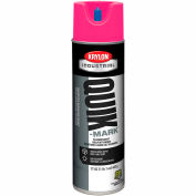 Krylon Industrial Quik-Mark Sb Inverted Marking Paint Fluorescent Hot Pink - A03622007 - Pkg Qty 12