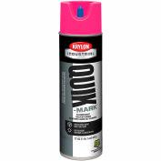 Krylon Industrial Quik-Mark Sb Inverted Marking Paint Fluorescent Hot Pink - A03622007 - Pkg Qty 12