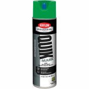 Krylon Industrial Quik-Mark Sb Inverted Marking Paint Apwa Green - S03631 - Pkg Qty 12