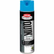 Krylon Industrial Quik-Mark Sb Inverted Marking Paint Fluorescent Blue - S03722 - Pkg Qty 12