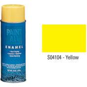 Krylon Industrial Paint-All Enamel Paint Yellow - S04104 - Pkg Qty 12