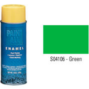 Krylon Industrial Paint-All Enamel Paint Green - S04106 - Pkg Qty 12