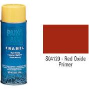 Krylon Industrial Paint-All Enamel Paint Red Oxide Primer - S04120 - Pkg Qty 12