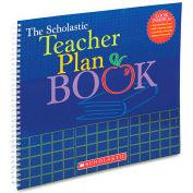 "Scholastic Teacher Plan Book (Updated) 439710561, 13"" x 11"", White, 1 Each"