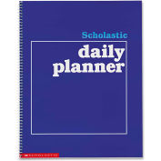 "Scholastic Daily Planner 590490672, 11"" x 8-1/2"", White, 1 Each"