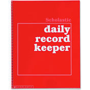 "Scholastic Daily Record Keeper 590490680, 11"" x 8-1/2"", White, 1 Each"