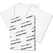 "Springhill® Digital Index White Card Stock 15300, 110 lbs, 8-1/2"" x 11"", White, 250/Pack"