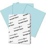 "Springhill® Digital Index Color Card Stock 25100, 8-1/2"" x 11"", Blue, 250/Pack"