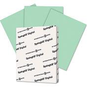 """Springhill® Digital Vellum Bristol Color Cvr 46000, 8-1/2"""" x 11"""", Green, 250/Pack"""