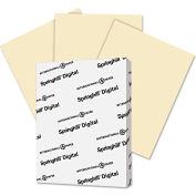 "Springhill® Digital Vellum Bristol Color Cvr 56000, 8-1/2"" x 11"", Ivory, 250/Pack"