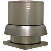 Downblast Belt Drive Centrifugal Roof Exhauster 208/230V 2 HP 3 PH 6482 CFM