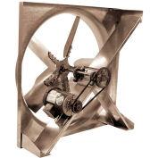 Sidewall Belt Drive Propeller Exhaust Fan 1/2 HP 1 PH 290 RPM ODP