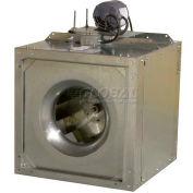 Square Inline Belt Drive Centrifugal Duct Fan 1/4 HP 1 PH 1800 RPM ODP
