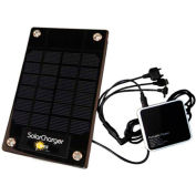 Sun-In-One™ SIO103 Solar Cell Phone & Device Charger, Portable, 3 Watt, 2500mAh