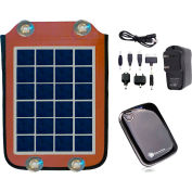 Sun-In-One™ SIO105 Solar Cell Phone & Device Charger, Portable, 5 Watt, 5200mAh
