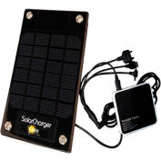 Sun-In-One™ SIO2-5 Solar Cell Phone & Device Charger, Portable, 2.5 Watt, 2500mAh