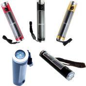 Sun-In-One™ SIOFLB Solar Flashlight, Black Handle, 4 Hour Battery Life