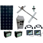 Sun-In-One™ SSLK10 Solar Sign Lighting, Kit 10, 250 Watt Panel