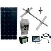 Sun-In-One™ SSLK2 Solar Sign Lighting, Kit 2, 12 Volt 100 Amp Hour AGM battery