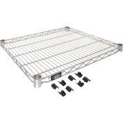 """Nexel® S2130C Chrome Wire Shelf 30""""W x 21""""D"""