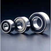 SMT 5206ZZ Double Row Angular Contact Ball Bearing, Double Shielded, OD 62mm, Bore 30mm, Metric
