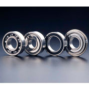 SMT SS6201ZZ Deep Groove Ball Bearing, Stainless Steel, Double Shielded, OD 32mm, Bore 12mm,Metric