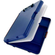 "Saunders Workmate II Storage Clipboard, 6 Storage Compartments, 10-5/8"" x 13-3/8"", Blue"
