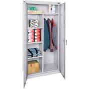"Sandusky Classic Combination Storage Cabinet CAC1361878-05 - 36""W x 18""D x 78""H Dove Gray"